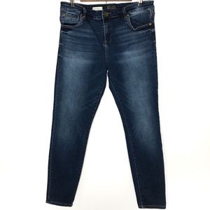 Kut from the Kluth Toothpick Skinny Jeans